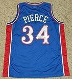Paul Pierce Autographed Signed Kansas Jayhawks #34 Basketball Jersey - Steiner Sports Certified - Autographed College Basketballs
