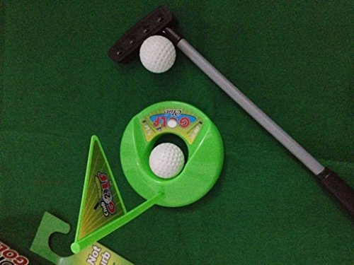 2sets of A99 Golf Toilet Bathroom Mini Golf Mat Set Game Potty Putter by A99 Golf (Image #2)