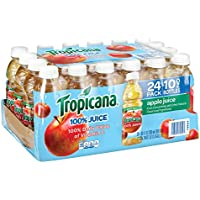 24-Pack Tropicana Apple Juice (10-Ounce Bottles)