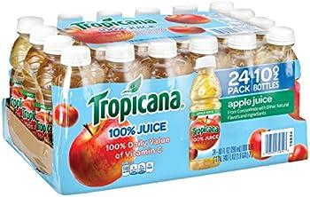 24-Pack Tropicana Apple Juice (10-Ounce Bottles)