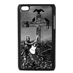 YUAHS(TM) Custom Phone Case for Ipod Touch 4 with Kurt Cobain YAS045418