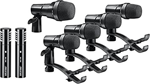 Digital Reference DRDK7 7-Piece Drum Mic Kit - Drum Kit Microphone System