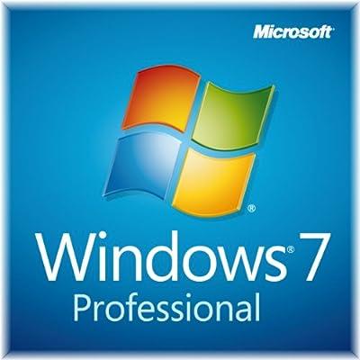 Microsoft Windows 7 Professional SP1 32-bit DVD Software + Genuine Product Key & COA License