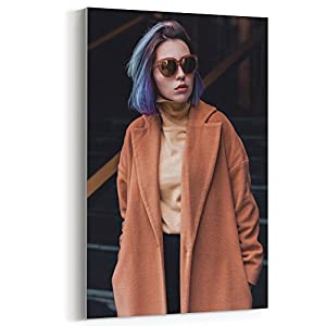 Westlake Art - Canvas Print Wall Art - Eyewear Fashion on Canvas Stretched Gallery Wrap - Modern Picture Photography Artwork - Ready to Hang - 12x18 (f30 230)
