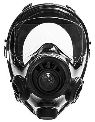 Israeli Military Spec Gas Mask NBC 40mm Full Face Emergency Preparedness Respirator - Made in 2017