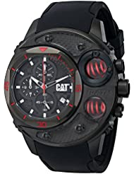 CAT WATCHES Mens DU16321128 DU 54 Analog Display Quartz Black Watch