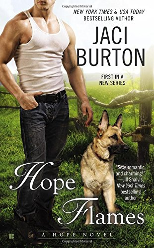 book cover of Hope Flames
