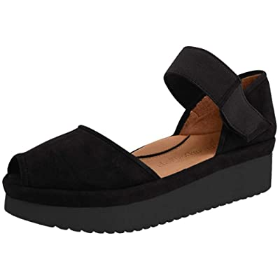 L`Amour Des Pieds Womens Amadour Black Clog - 8 M | Walking