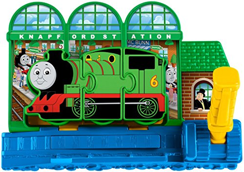 (Thomas & Friends Fisher-Price My First, Engine Match Express Knapford Station Playset)