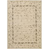 "Nourison Somerset (ST04) Beige Rectangle Area Rug, 7-Feet 9-Inches by 10-Feet 10-Inches (7'9"" x 10'10"")"
