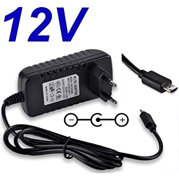 Cargador Corriente 12V Reemplazo Tablet Acer Iconia Tab ADP-18TB A510 A511 A700 A701 Recambio Replacement
