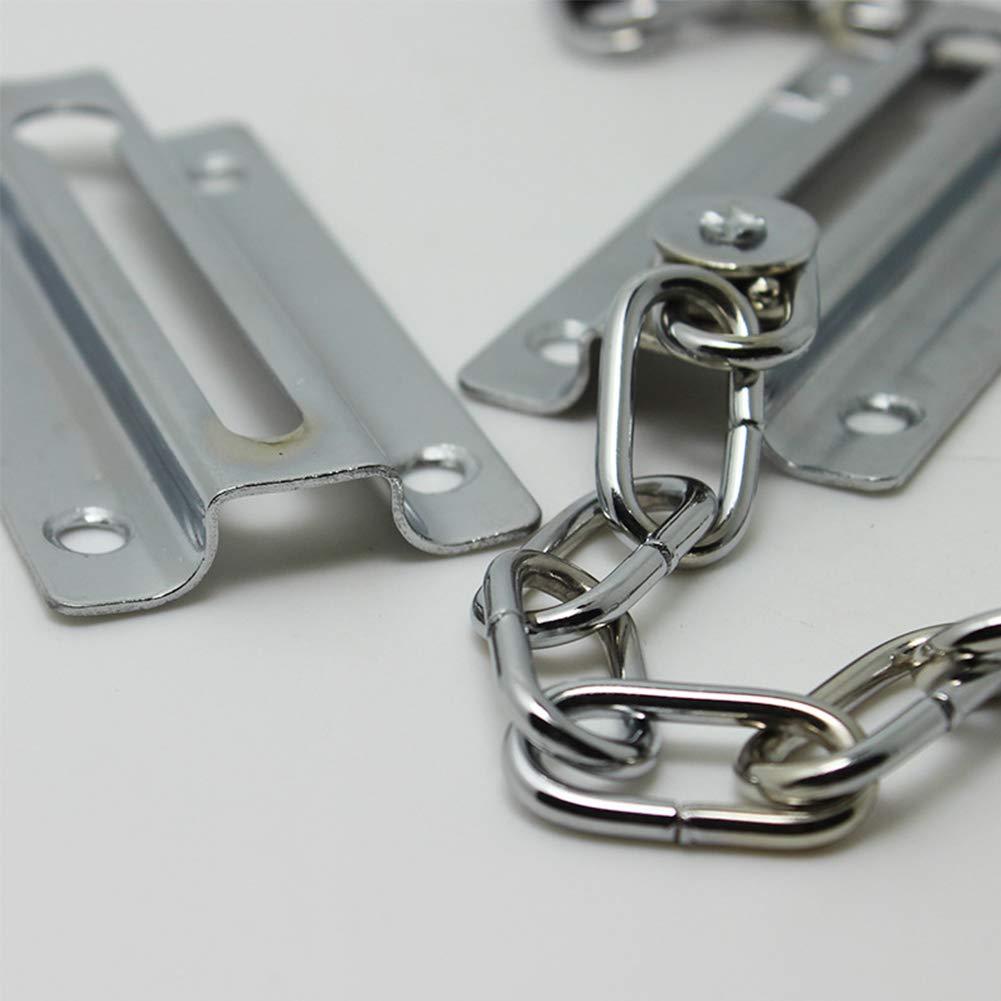 cadena de seguridad para el hogar cadena de puerta delantera y cierre de seguridad para puertas de casa u oficina Cadena de puerta de acero de alta calidad