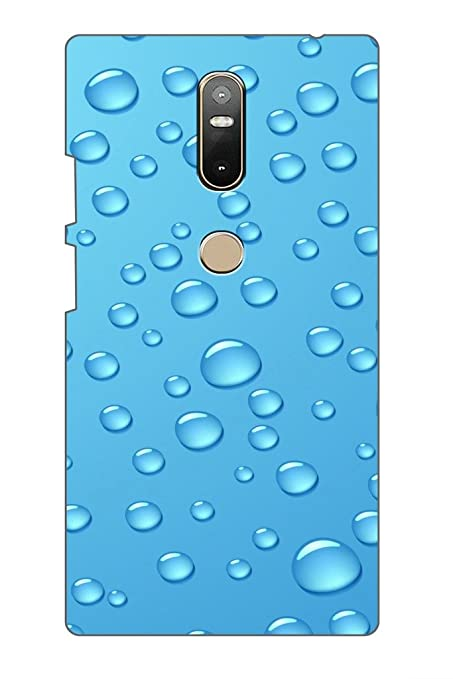 quality design f16c9 d8dfe AMAN Water Dot 3D Back Cover for Lenovo Phab 2 Plus: Amazon.in ...