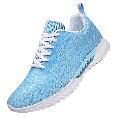 WEIDANSIER ランニングシューズ スニーカー レディース メンズ ジョギングシューズ 運動靴 軽量 防水 通学靴 男女兼用22.5cm-27.5cm