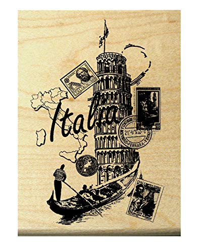 Italia Rubber stamp P7 Italy (Italy Stamp Rubber)