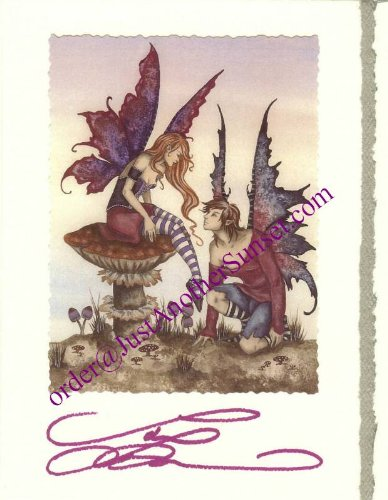 Amy Brown Signed Greeting Card 5