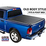 Gator ETX Soft Roll Up Truck Bed Tonneau Cover | 53206 | fits 09-18 Dodge Ram 1500, 10-18 2500/3500, 8 Bed | Made in the USA