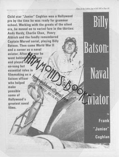Article: Billy Batson Naval - Film Coghlans