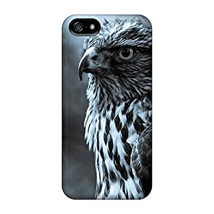 Iphone 4/4S Cases Covers - Slim Fit Protector Shock Absorbent Cases (hawk Eye) by icecream design
