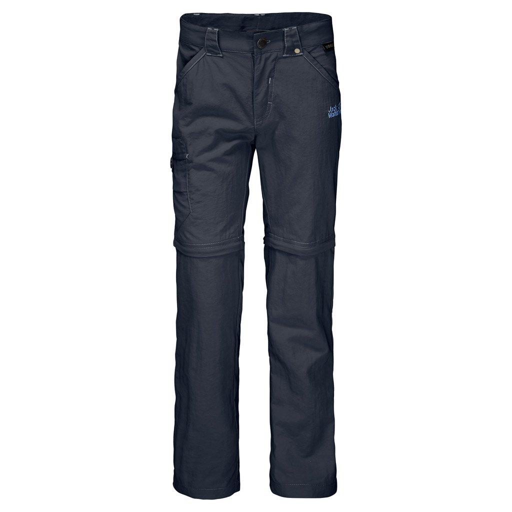 Jack Wolfskin Safari Zip Off Pants (Little Big Kid), Night Blue, 152 (11-12 Years Old)