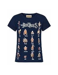 Boxtrolls Childrens/Girls Official Character Design T-Shirt
