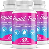 Cheap Rapid Tone Weight Loss Pills Supplement – Burn Fat Quicker – Carb Blocker, Appetite Suppressant, Fat Burner – Natural Thermogenic Extreme Diet Fast WeightLoss for Women Men (3 Month Supply)