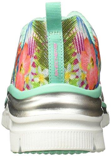 Skechers Damen Fashion Fit Sneaker Aqua/Multi