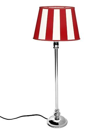Brillibrum - Lámpara de mesa de diseño ovalado con pantalla ...