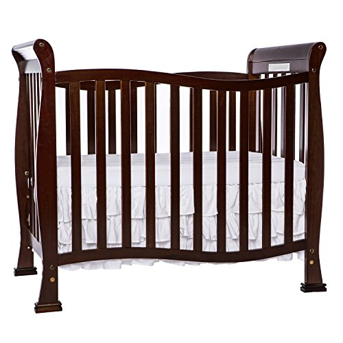 Dream On Me Piper 4-in-1 Convertible Mini Crib, Cuna, Espresso