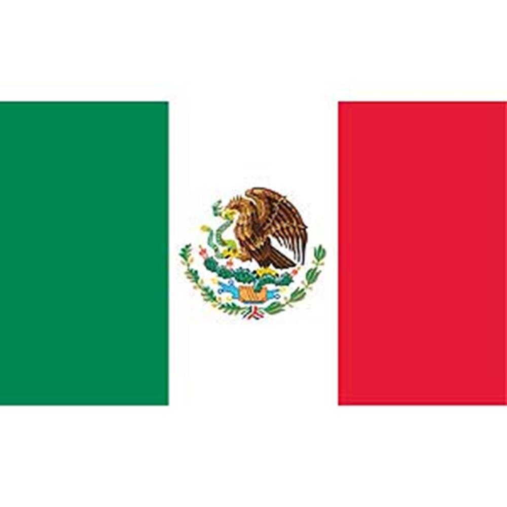 EagleEmblems F8071 Flag-Mexico (12in x 18in)
