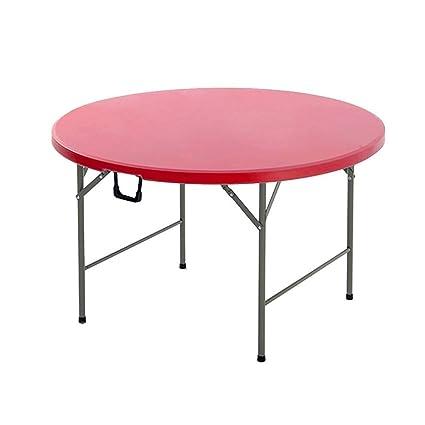 Qing MEI Table Ronde Pliante Multifonctions Accueil Table À ...