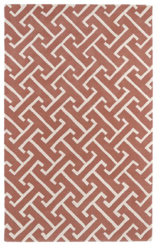 """Price comparison product image Revolution Collection Hand Tufted Pink Rug (9'6"""" x 13')"""