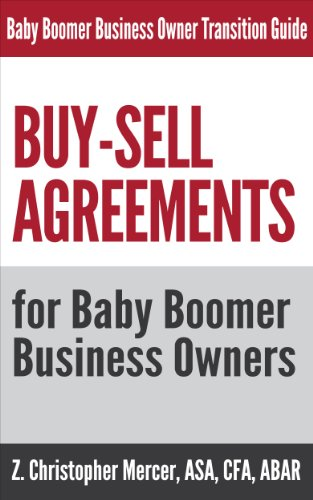 AmazonCom BuySell Agreements For Baby Boomer Business Owners The