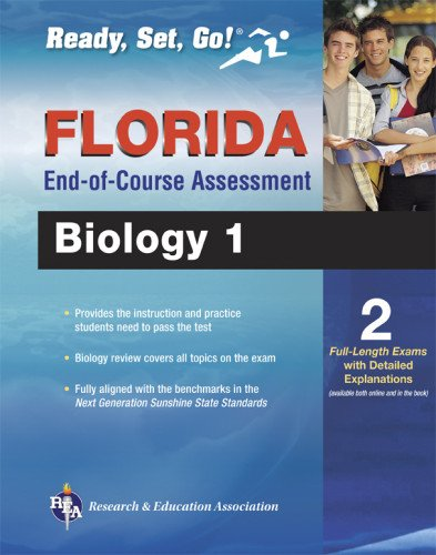 Florida Biology 1 End-of-Course Assessment Book + Online (Florida FCAT & End-of-Course Test - Online Sunshine Florida