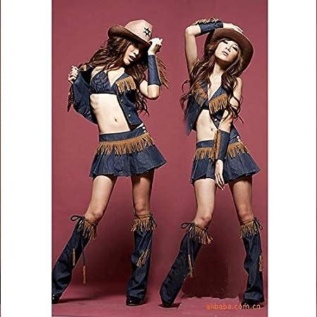 Sexy Dessous Western Cowboy Dance Llevar DS Disfraces Rollenspiele ...