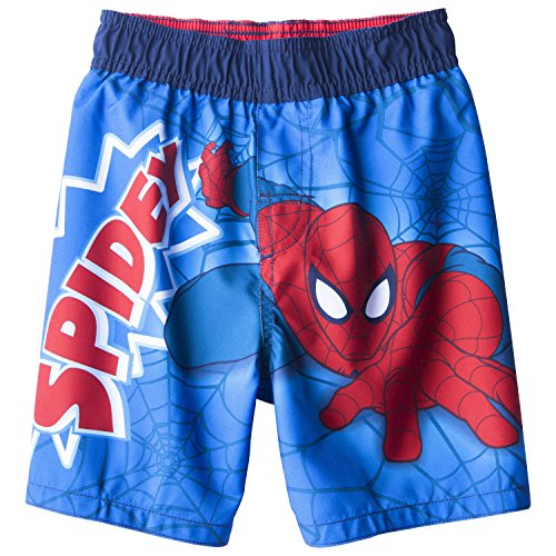 Marvel Spiderman Swimsuit Swim Trunk Toddler Boy Size 5T