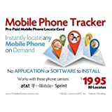 LiveViewGPS Prepaid Mobile Phone Locate Card