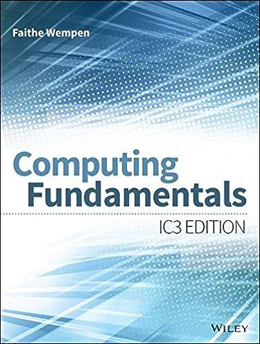 computing fundamentals ic3 edition amazon co uk faithe wempen rh amazon co uk