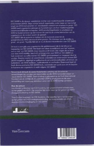 ISO 26000: handleiding voor MVO: Amazon.es: Lars Moratis ...