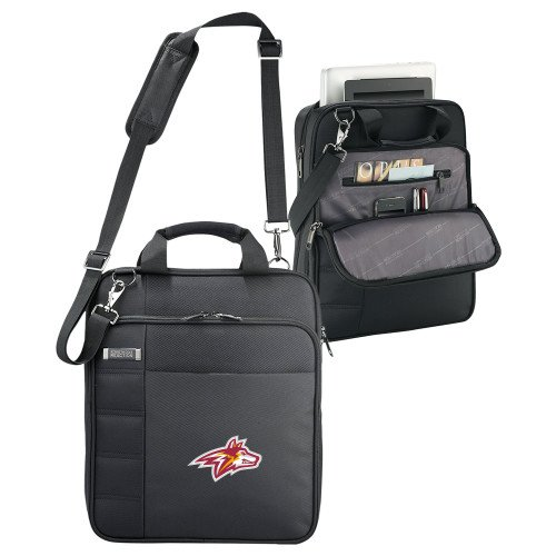 Alvernia Kenneth Cole Black Vertical Checkpoint Friendly Messenger 'Secondary Logo' by CollegeFanGear