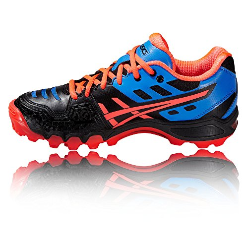 Hockey hockey Gel Women's Zapatillas 2 Asics Typhoon Negro qfXwxggz5