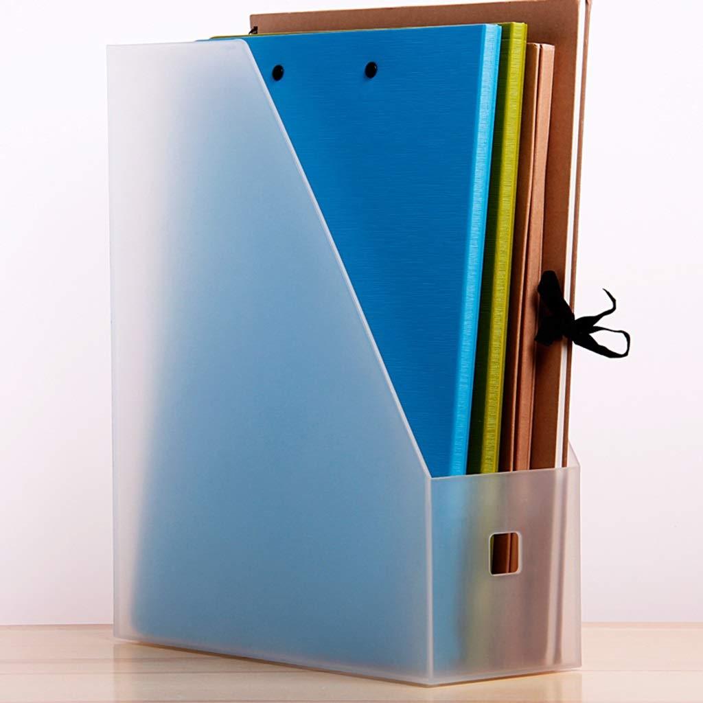 WJF Office Desk-Dateikorb Einzeldatei-Box Einzeldatei-Box Einzeldatei-Box Dateihalter Dateikasten Datenrahmen Dateikorb Desktop Büro Verwenden Creative PP-Material Durchscheinend (Farbe    2) B07PBM5VSD | Berühmter Laden  0b45b2