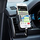 Bestfy Universal Air Vent Holder Cradle Car Mount for iPhone 7/7 plus/6s/6s plus/Samsung Galaxy S8/ S8 plus/S7/S7 edge/LG/Nexus/Sony/Motorola/Nokia and More (2.2''-3.7'')