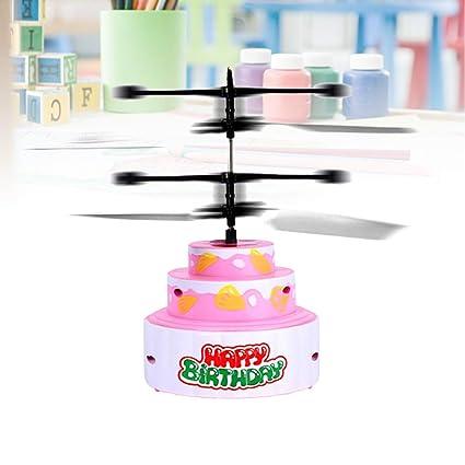 Toyandona - Helicóptero de juguete para tarta de cumpleaños ...