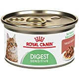 Royal Canin 24-Can Feline Health Nutrition Digest Sensitive Canned Cat Food, 3-Ounce Per Can Thin Slices in Gravy