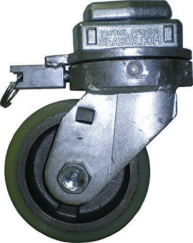 "Container Caster 6"" Swivel Wheels 4 Pack"
