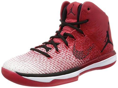 Nike Mens Air Jordan XXXI Basketball Shoes Varsity Red/Black/White 845037-600 Size 7