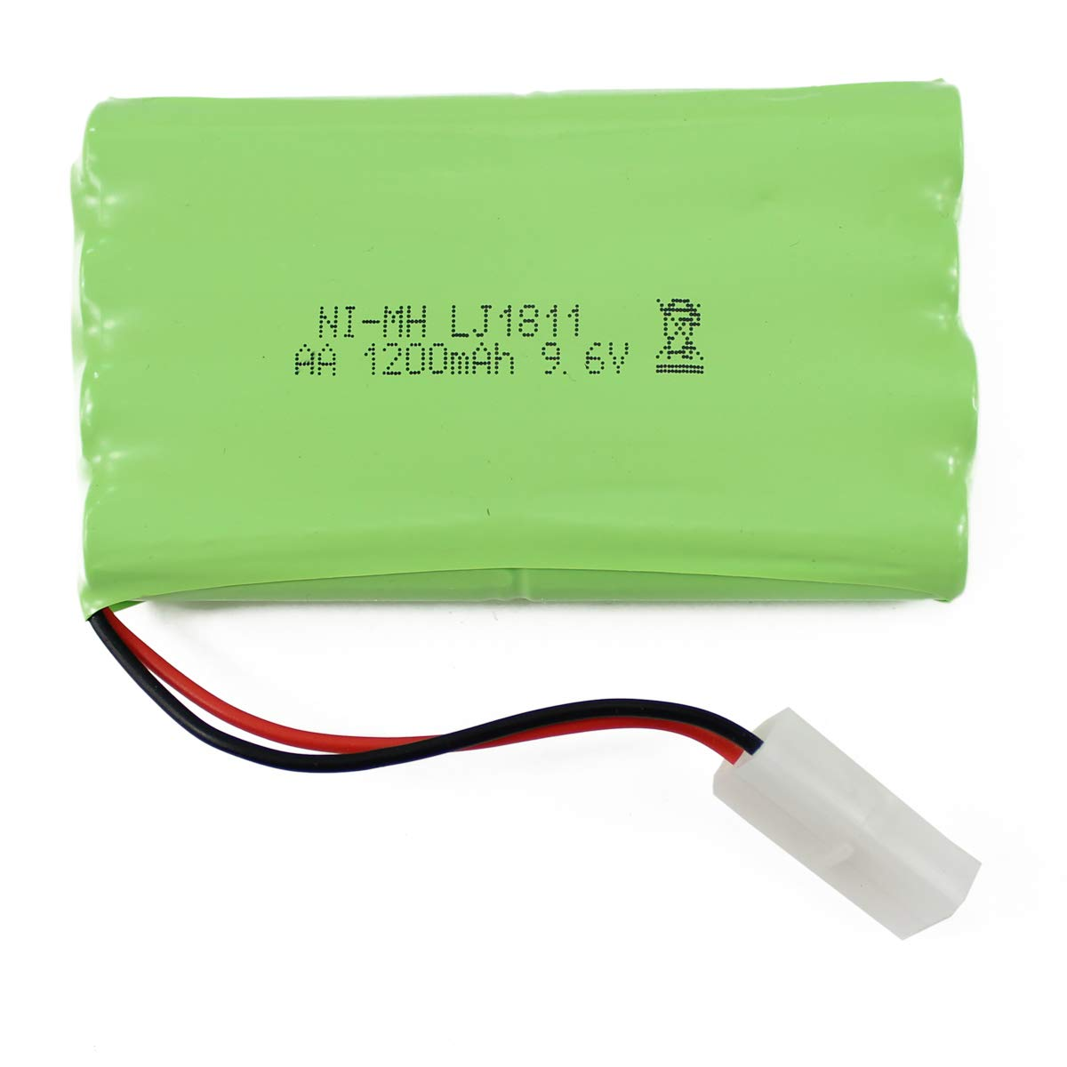 Bateria LIPO 9.6V 1200mah RC FISCA