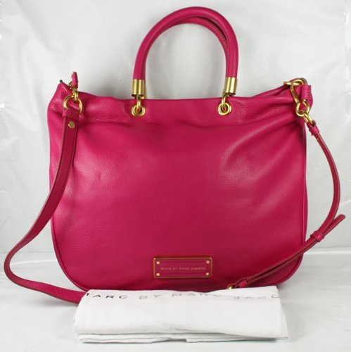 Marc Jacobs Too Hot To Handle Mini Shopper in Fuchsia (Marc Jacobs Too Hot To Handle Shopper)
