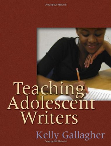 Teaching Adolescent Writers cover